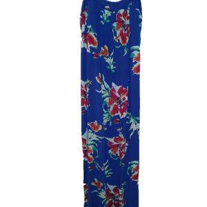 Old Navy Tropical Blue XS Maternal Dress
